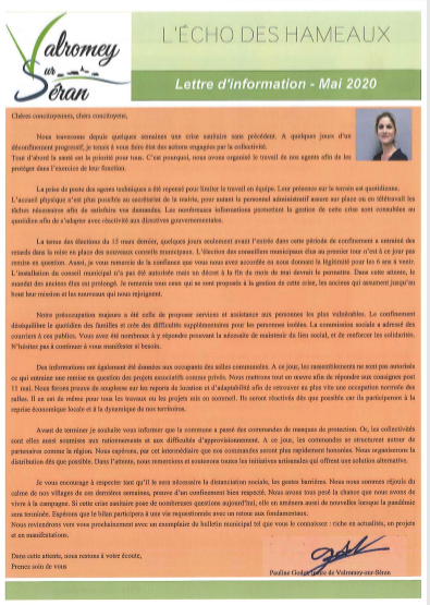 lettre information